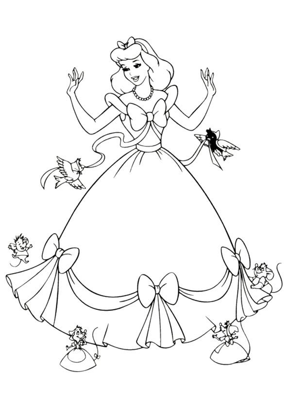 Cinderella Dress Mice