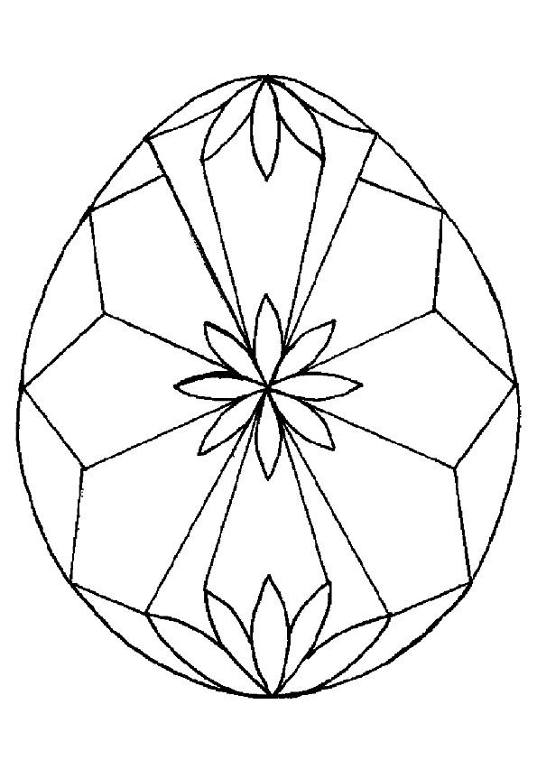 Easter Egg in Diamond Shape