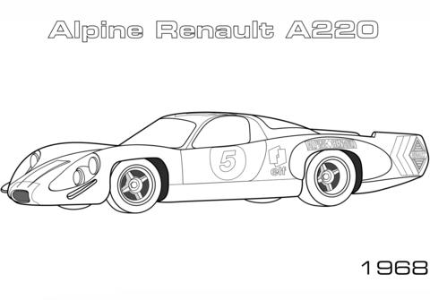 Alpine Renault A220