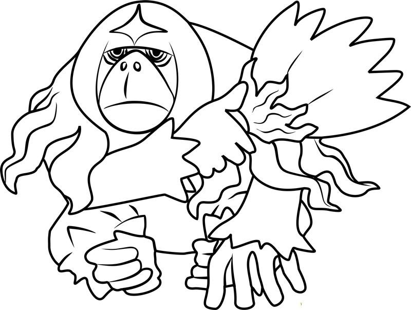 Oranguru Sage Pokemon