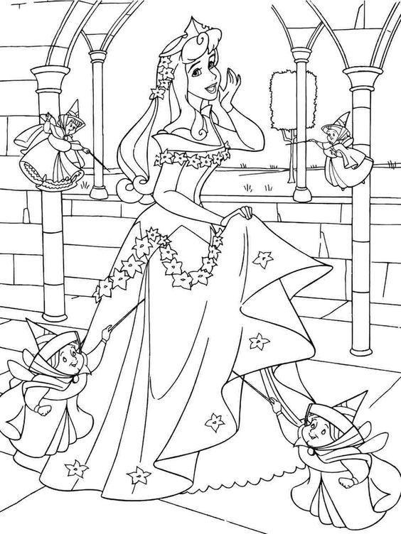 Aurora With The Fairies