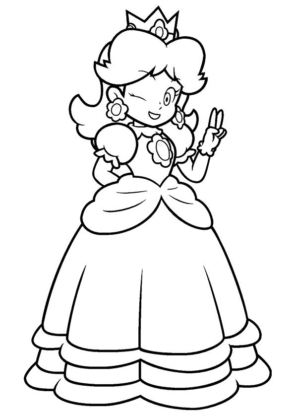 Happy Princess Peach
