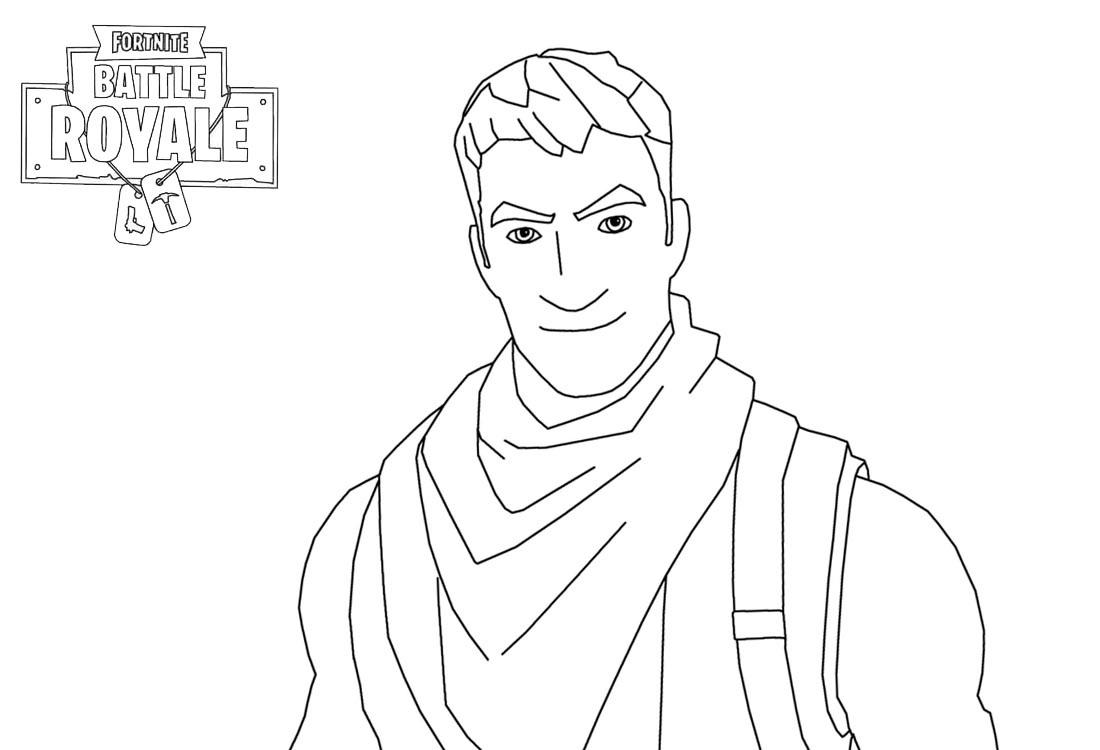 Fortnite Character Man Smiling