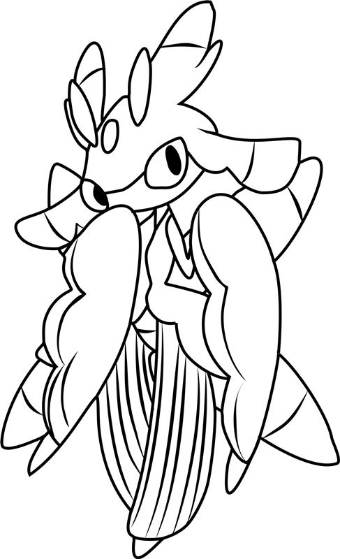 Lurantis Pokemon