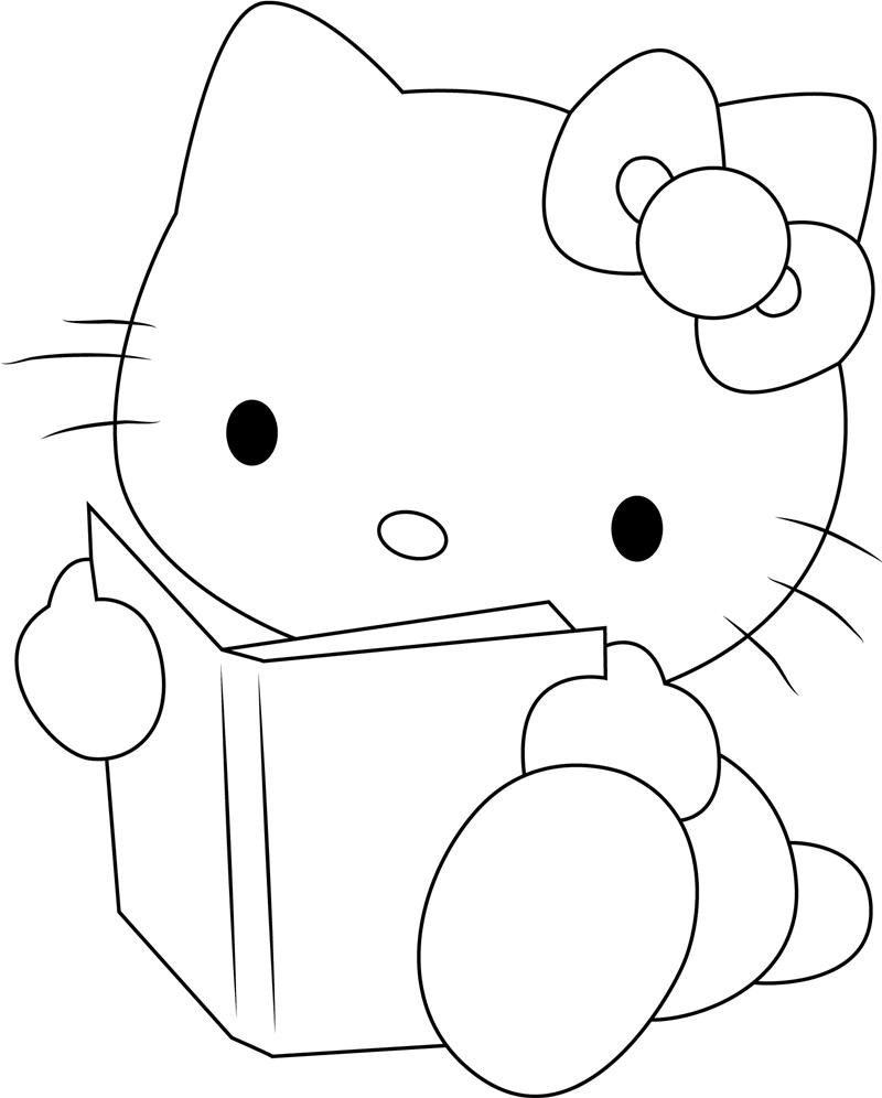 Hello Kitty Reading Book