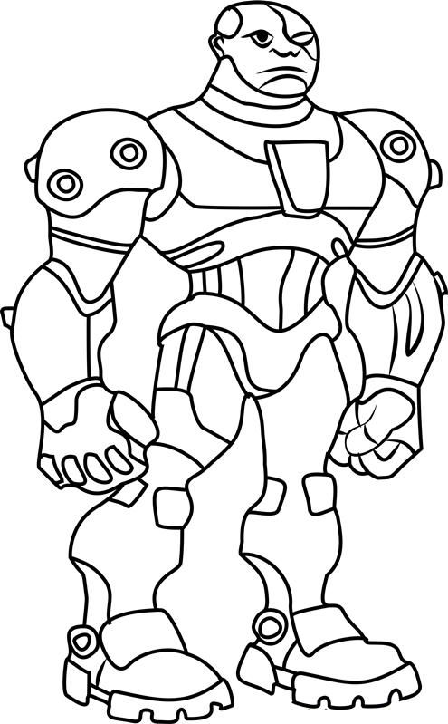 Angry Cyborg