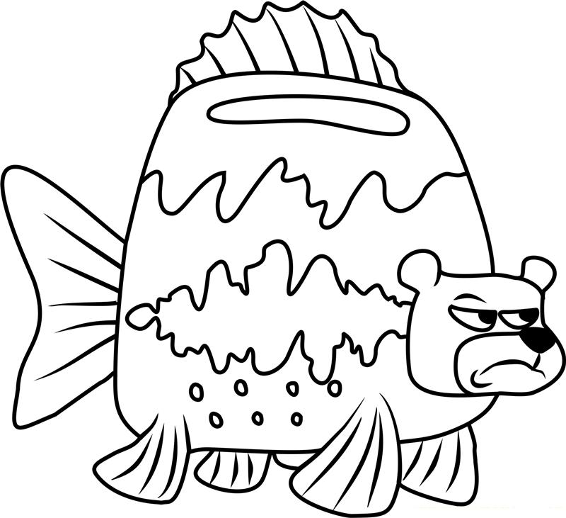 Angry Sea Bear