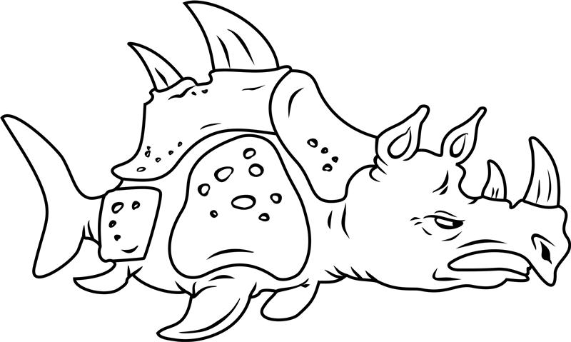 Angry Sea Rhinoceros