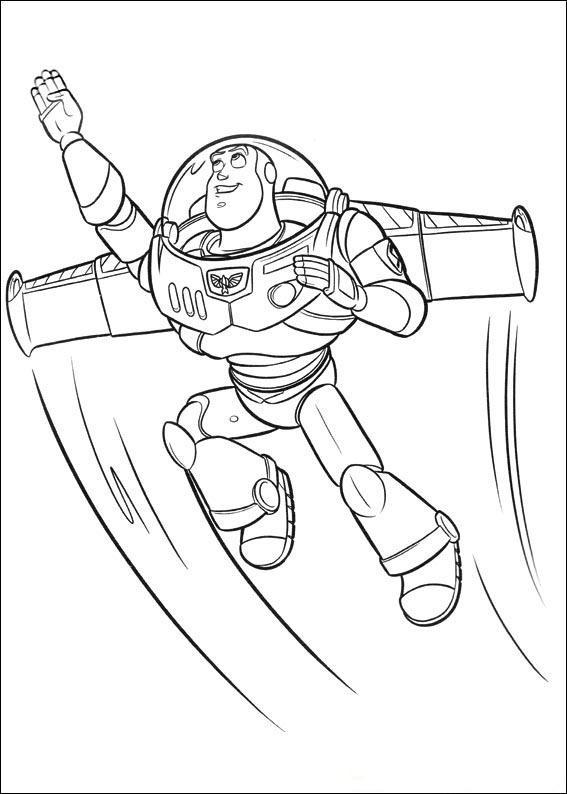 Buzz Lightyear Flying