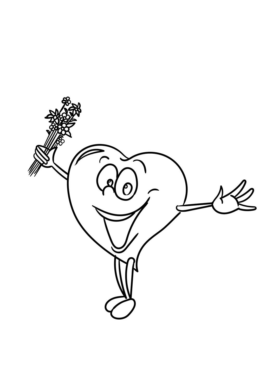 Happy Cartoon Heart