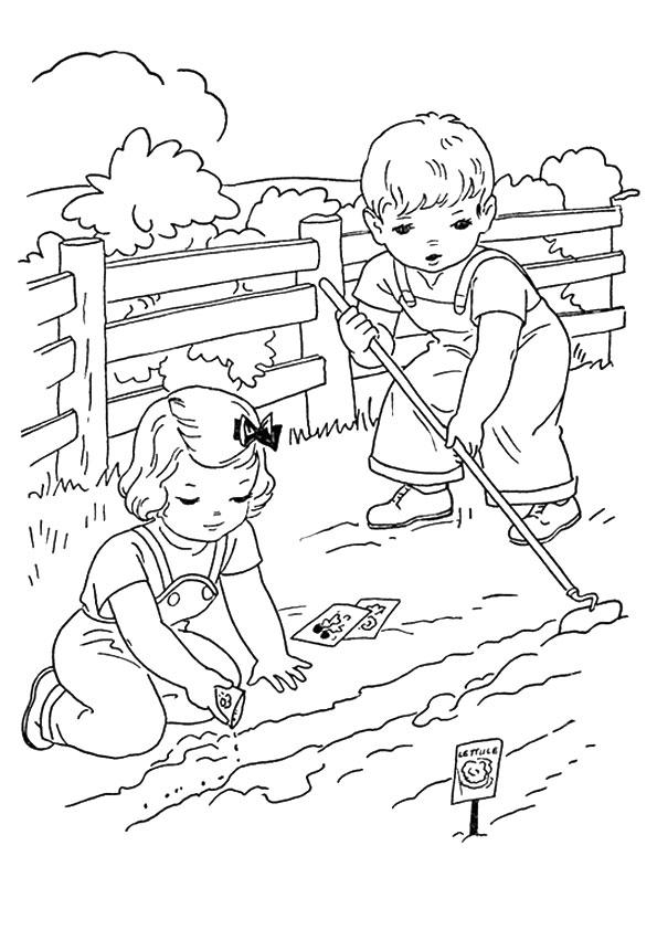 Two Kids Farming