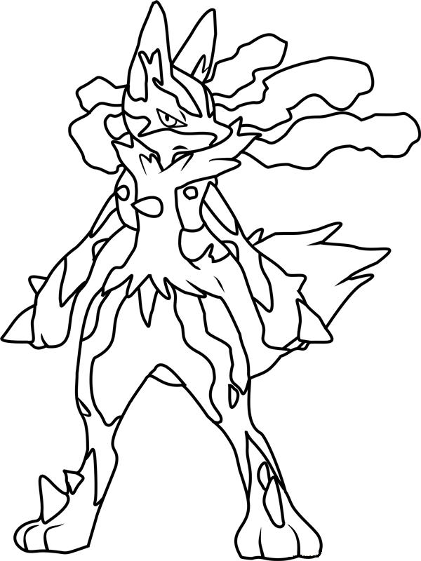 Angry Mega Lucario
