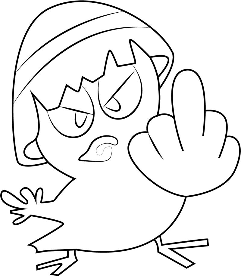 Angry Calimero
