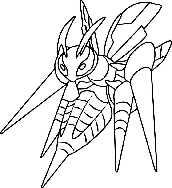 Mega Beedrill Pokemon