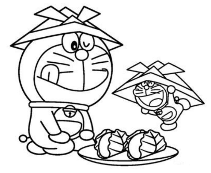 Happy Doraemon