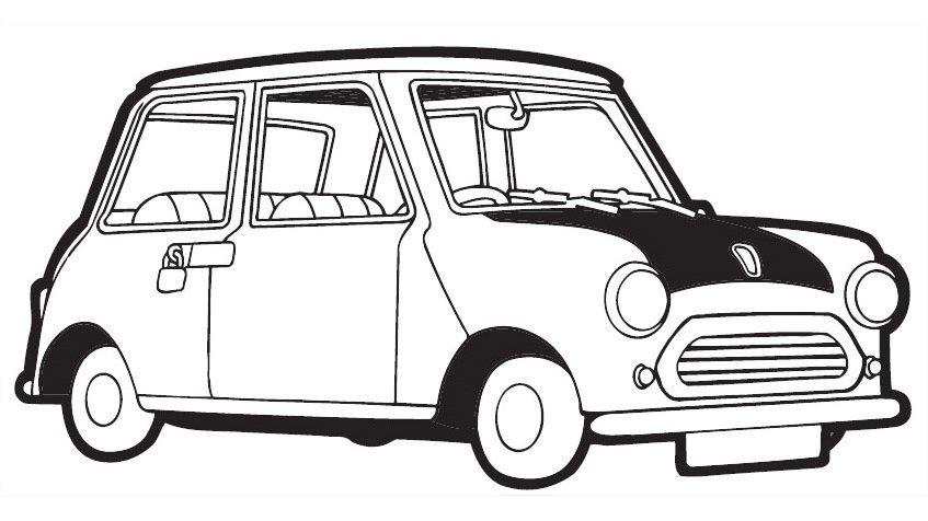 Car Of Mr. Bean