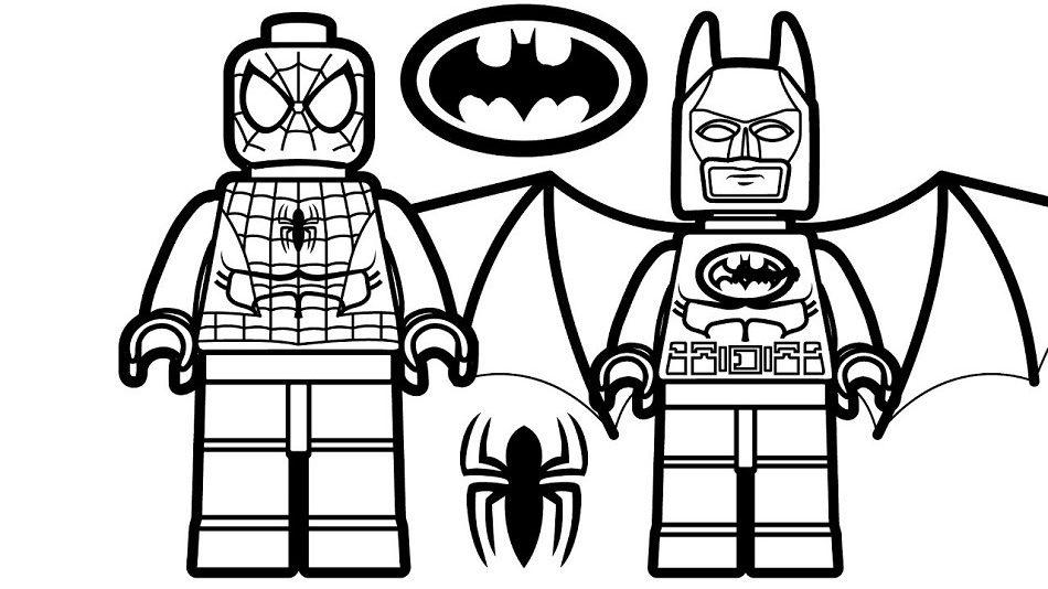 Lego Spiderman And Lego Batman