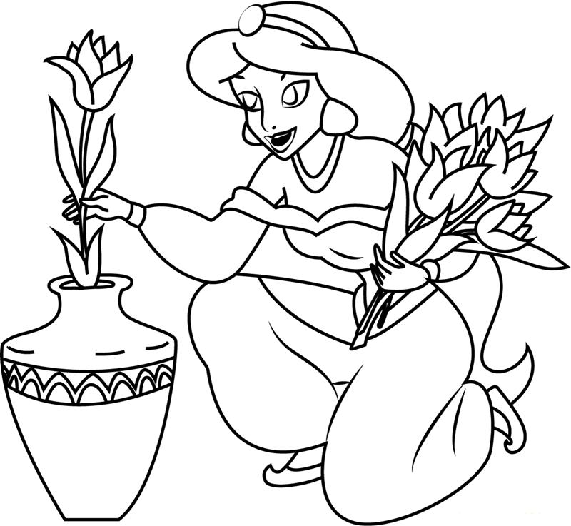 Jasmine With Flowers