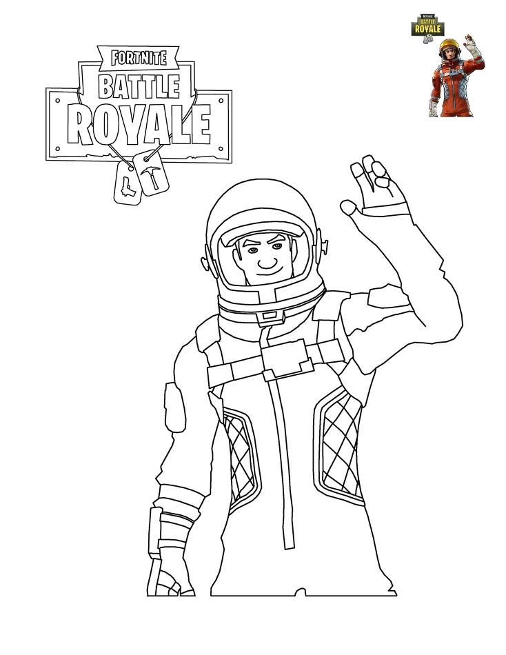 Man In Fortnite Battle Royale