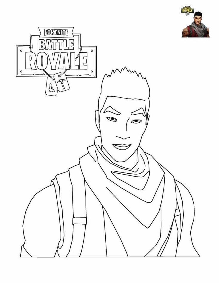 Shock Trooper From Fortnite Battle Royale