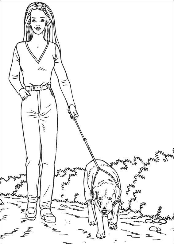 Barbie With Dog