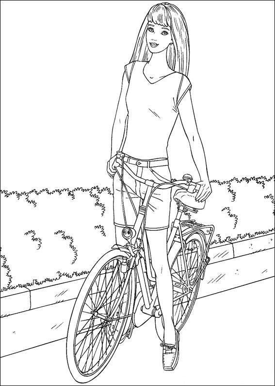 Barbie Cycling