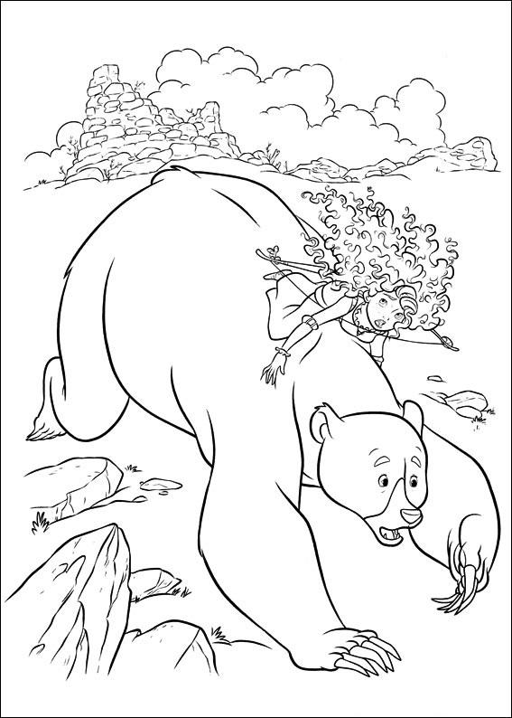 Merida On Elinor Bear