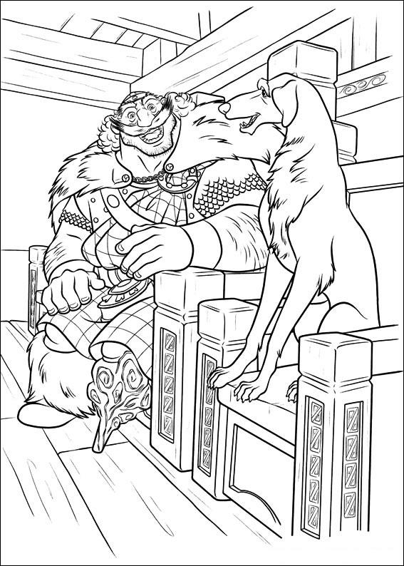 King Fergus And Dog