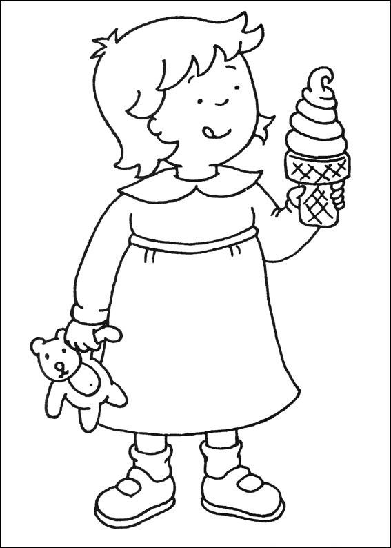 Rosie Eating Ice Cream