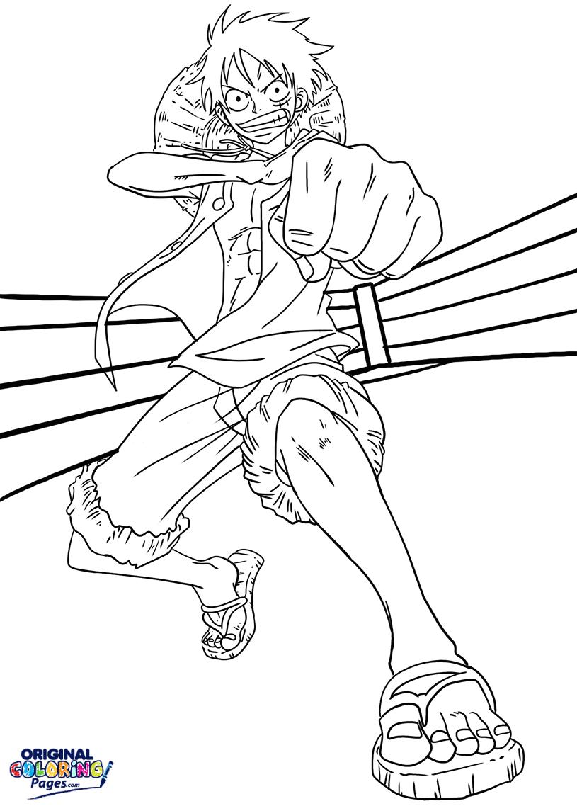 Luffy Gomu Gomu No Pistol
