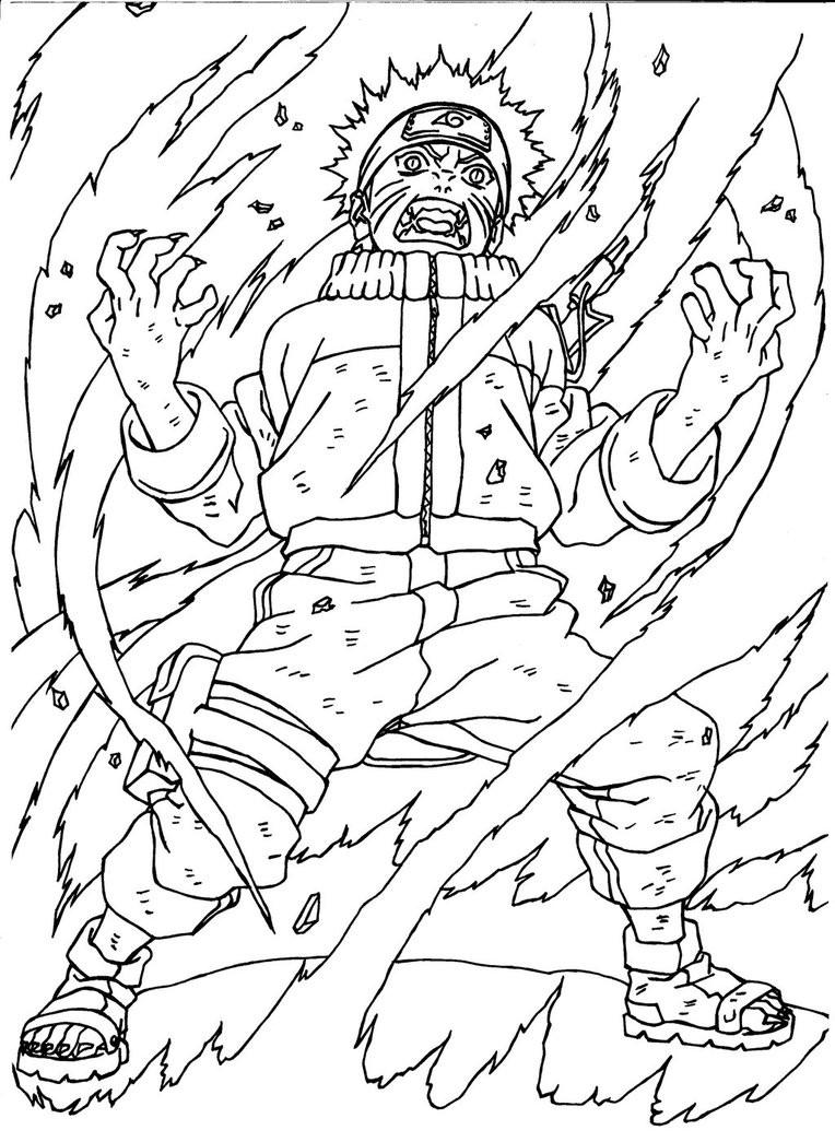 Naruto Get Angry