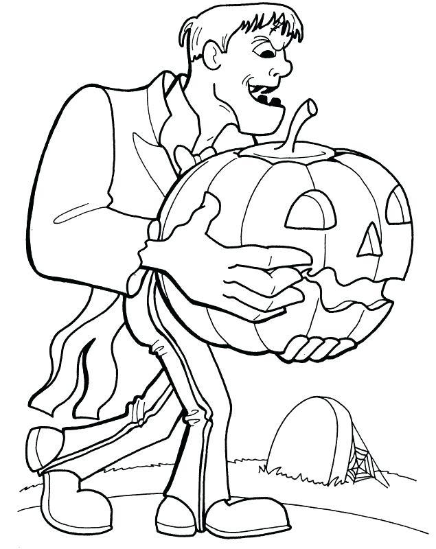 Frankenstein And Pumpkin