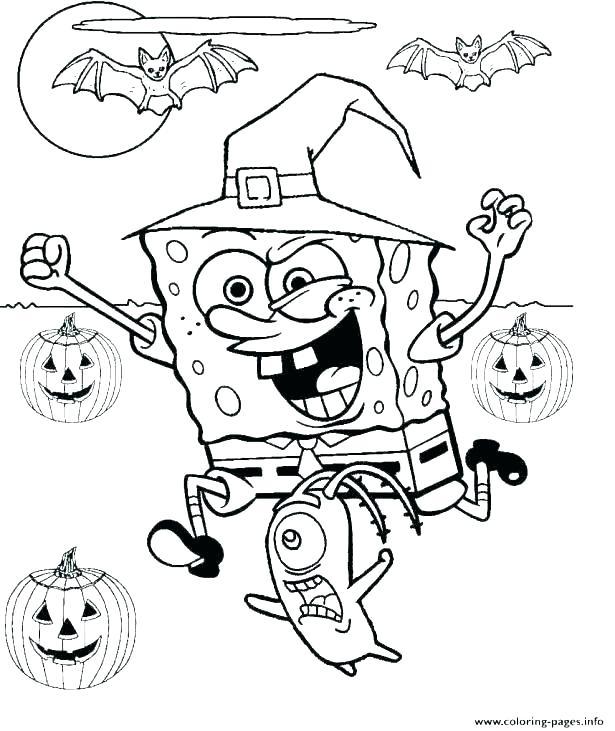SpongeBob SquarePants In Witch Costume