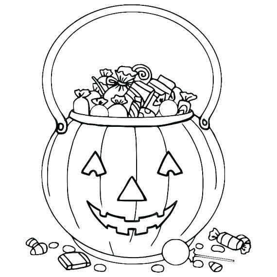 Trick Or Treats Pumpkin Bag