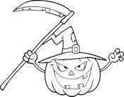 Jack O Lantern The  Evil Witch