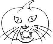 Cat The Creepy Pumpkin