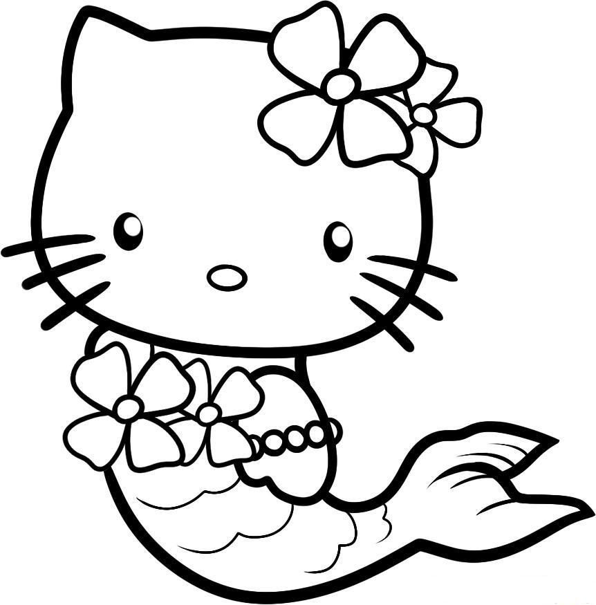 Kitty The Mermaid