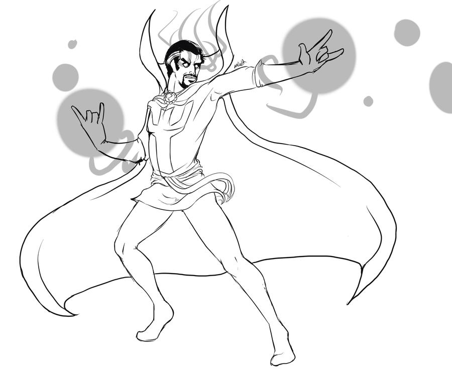Powerful Doctor Strange