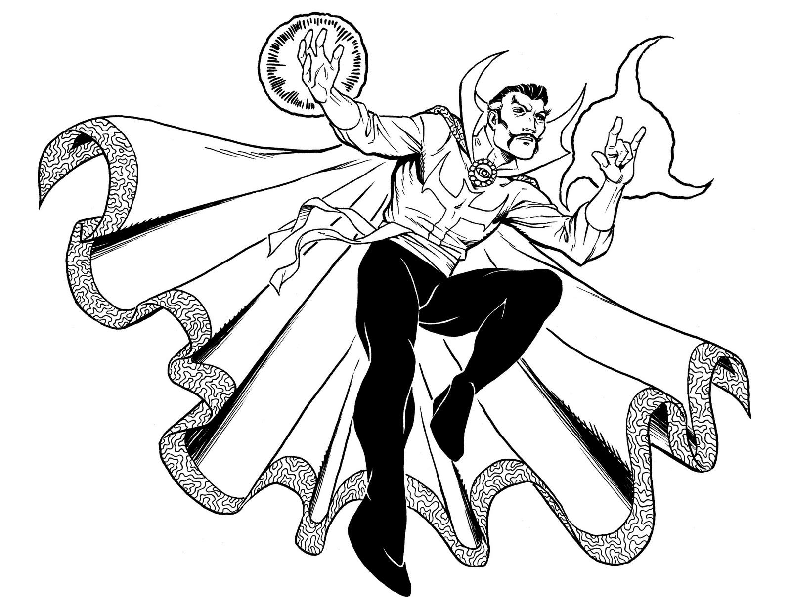 Doctor Strange Show His Skill