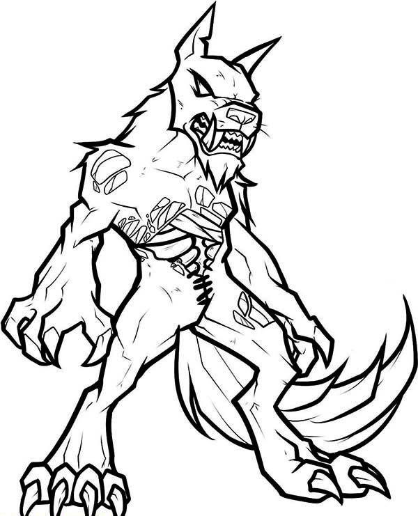 Undead Werewolf