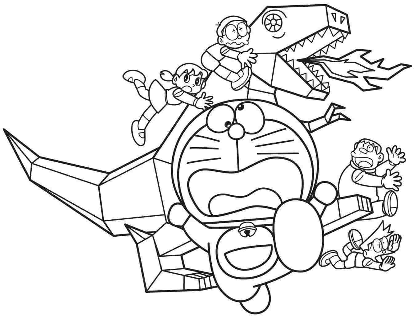 Doraemon And Paper Dinosaur