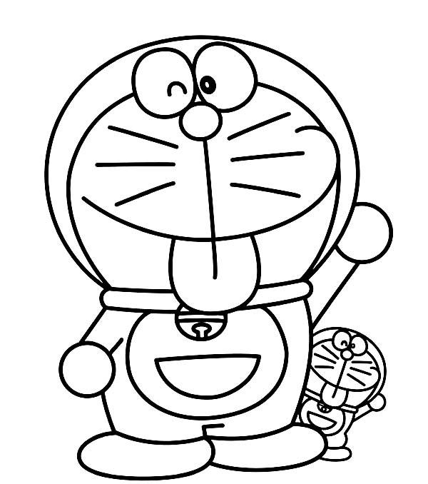 Big And Small Doraemon