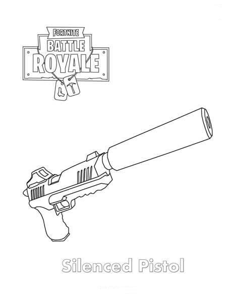 Silenced Pistol Fortnite