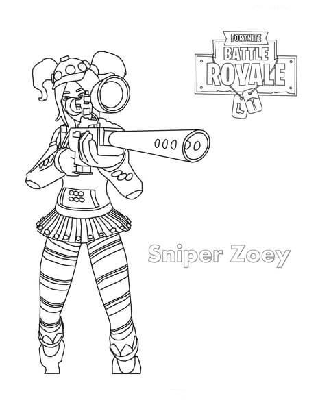 Sniper Zoey Fortnite