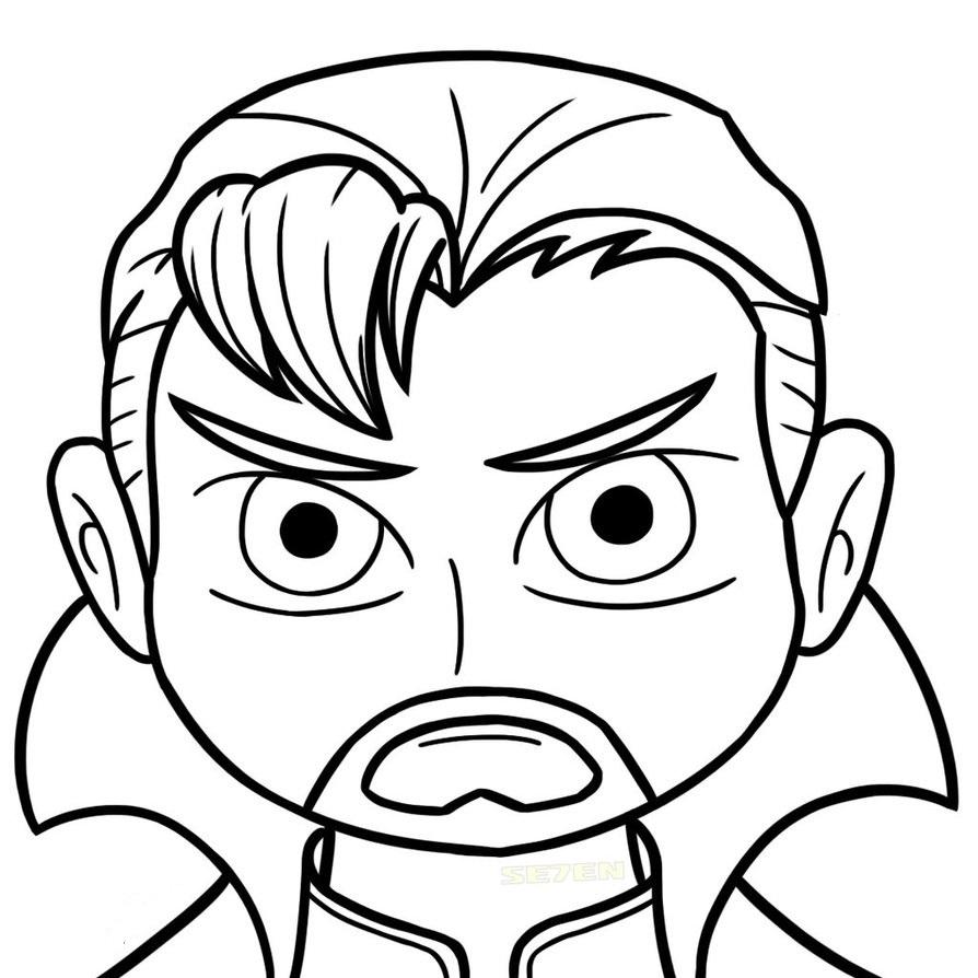 Doctor Strange's Face