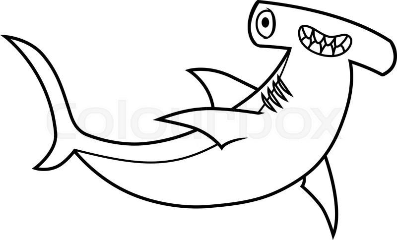 Happy Hammerhead Shark