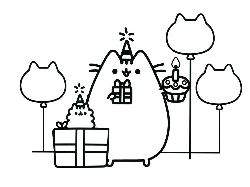 Happy Birthday Pusheen