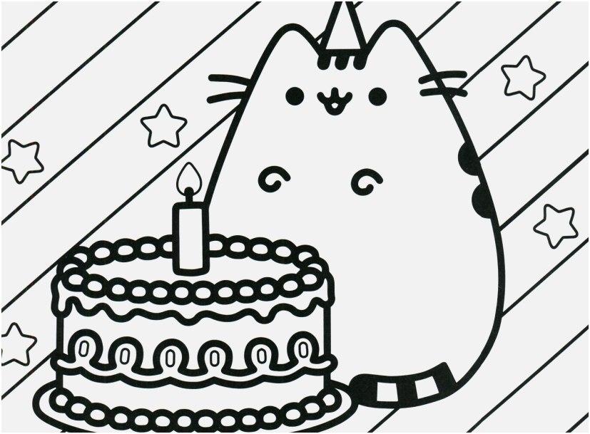 Pusheen With Birthday Cake