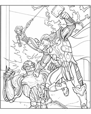 Thor Vs Ultron
