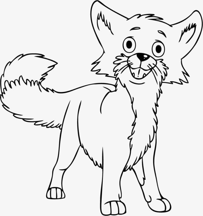 Funny Fox Smiling